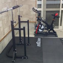 第2練習場 トレーニング機器(スクワット)