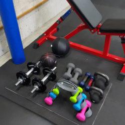 第2練習場 トレーニング設備